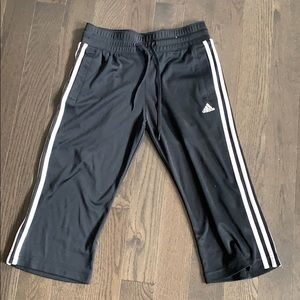 Women's Adidas cropped track pants women's